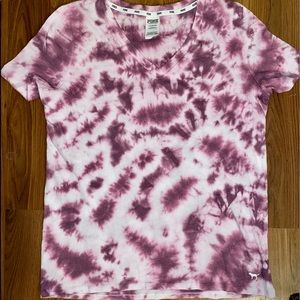 Victoria's Secret tie dye t-shirt size large